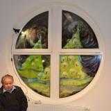 Adventfenstereröffnung Bücherei Ebersdorf 14.12.2014