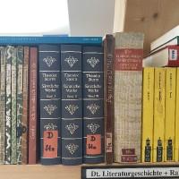 Dt Literaturgeschichte u. Raritäten