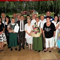 Gästeehrung Waldbad Hutter am 28. 6. 2014